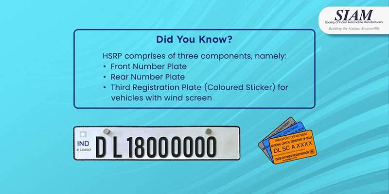 The colour-coded stickers are meant to identify vehicles based on their fuel type and Bharat Stage variant.